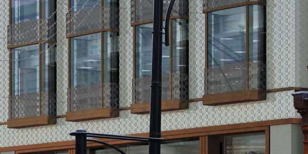 Oxford St facade