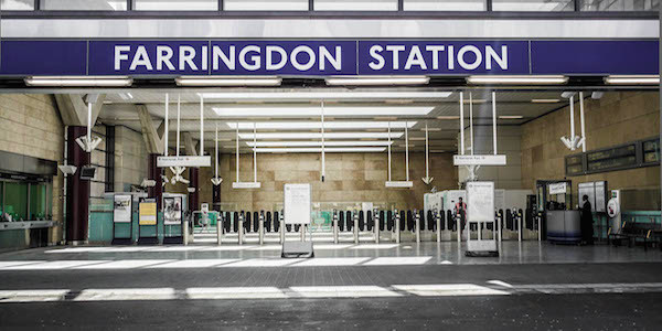 farringdon station 1