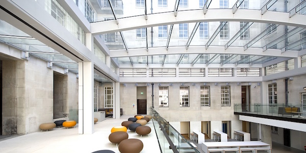 Senate House Student Hub by GRAHAM Construction (credit – Mike O'Dwyer)